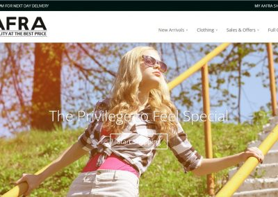 Aafra Shop